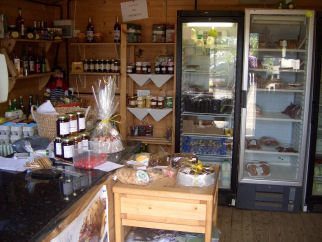 Traditionally produced meats, free range eggs and home-grown produce
